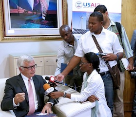 Foto cedida pela USAID Mozambique
