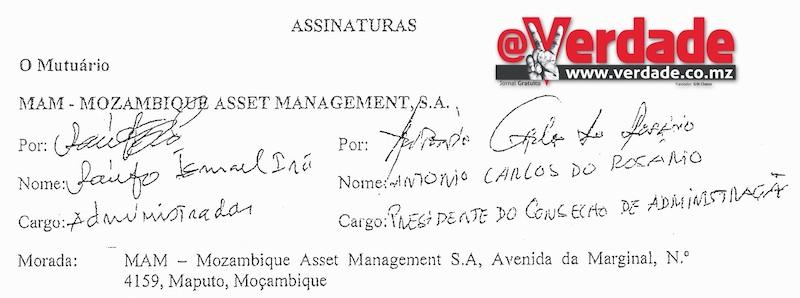 Contrato de Financiamento MAM