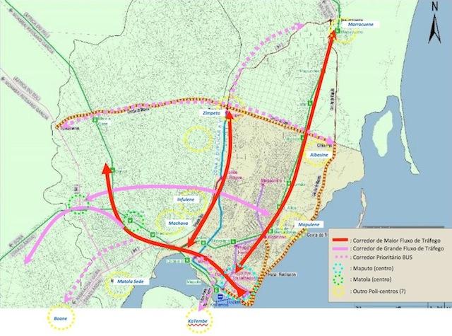 Mapa do CMCM
