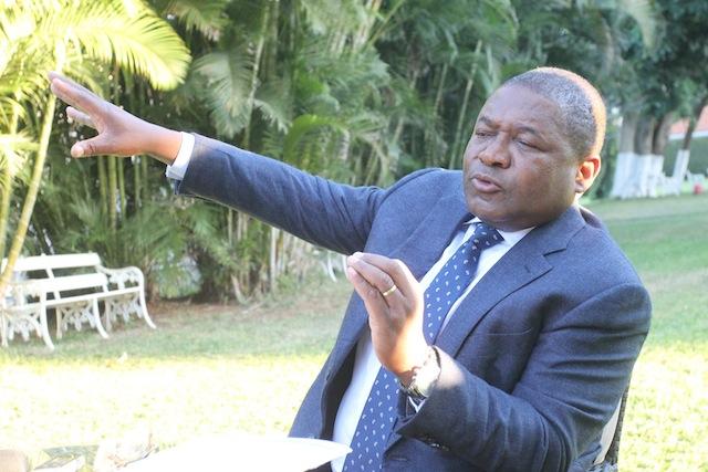 Foto do Canal de Moçambique