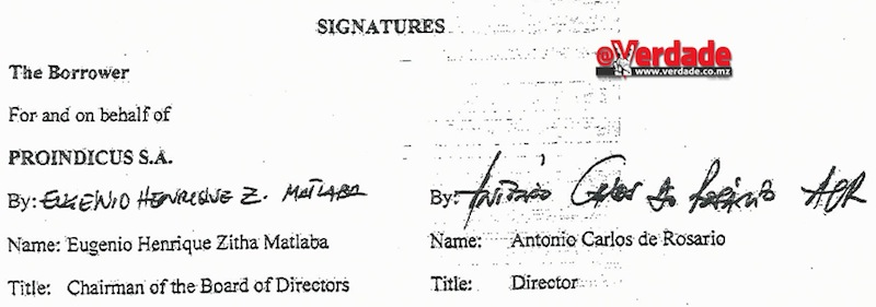 Contrato de Financiamento Proindicus